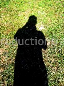 Camera Shot shadow On Grass
